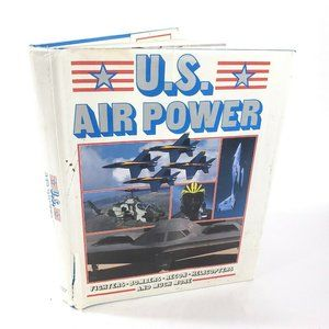 US Air Power 1989 Photo Military Fighter Hardcover